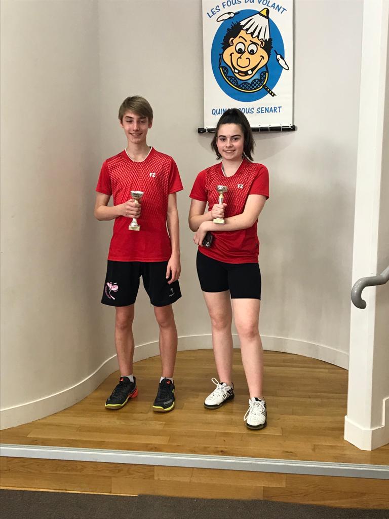 Trophée Essonne Jeune Double Mixte