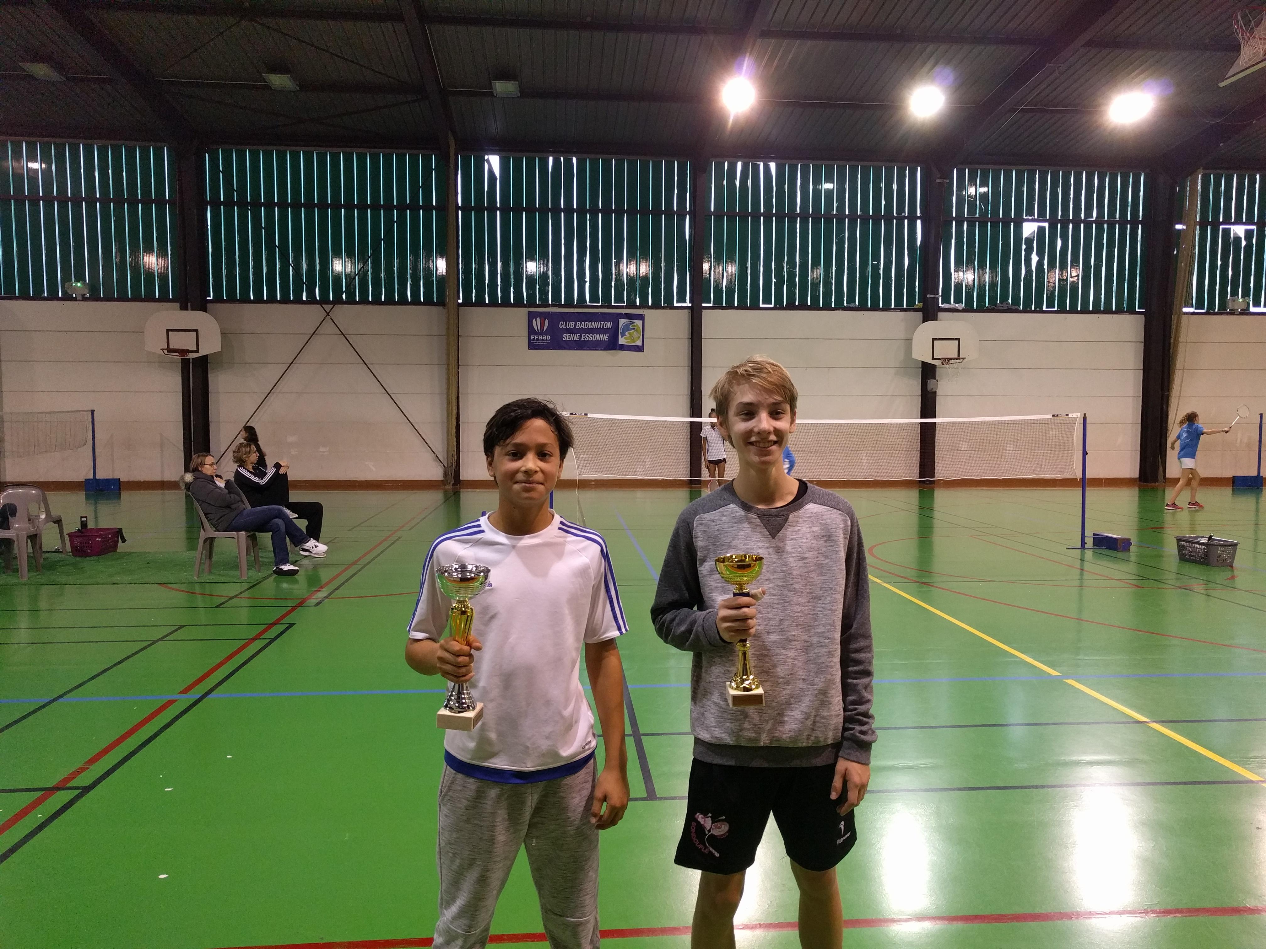 Trophée Essonne Jeunes Simple