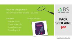 Pack scolaire 2020